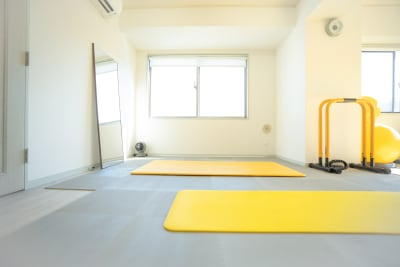手前側スペース - 代官山レンタルスペース トレーナー向け☆駅近格安スタジオの室内の写真