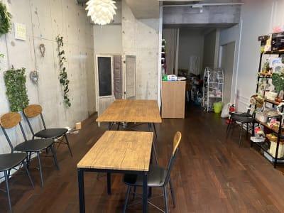ハナスタジオモッカモッカ 多目的スペースの設備の写真