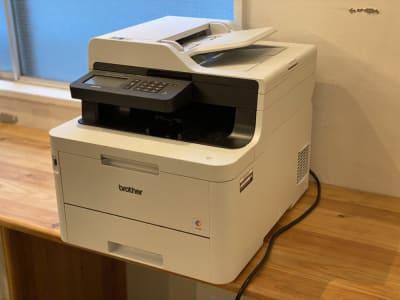 スキャン機能付きプリンター - Ray Terrace2F ドロップインCの設備の写真