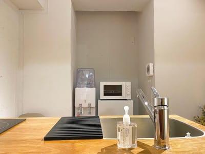 リビングルーム - レンタルサロンatto レンタルサロンatto心斎橋の室内の写真