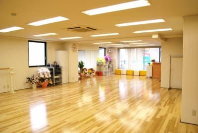 オオタケダンススクール レンタル(貸し)スタジオの室内の写真