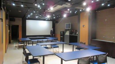 大銀河ホール ロの字2島型   - 銀河ホール 貸会議室の室内の写真