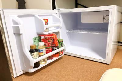 冷蔵庫です。ご自由にお使いください。 - ルームス ヒュッゲ 多目的スペースの設備の写真