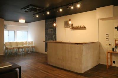 カウンターキッチン - Jesus' Call 福岡 ◆カフェ風多目的スペース◆の室内の写真