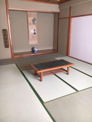 床の間付きの12畳和室スペースです。  - コモンハウス雪谷 205号室 レンタルスペースの室内の写真