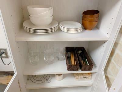 食器類完備してます。 - なんばEastの設備の写真