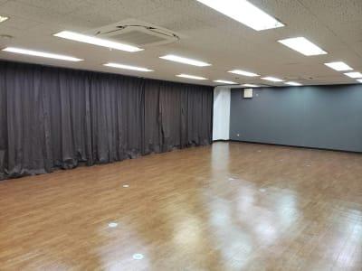 防音カーテンです☆ - レンタルスタジオ BigTree 岸和田店の室内の写真