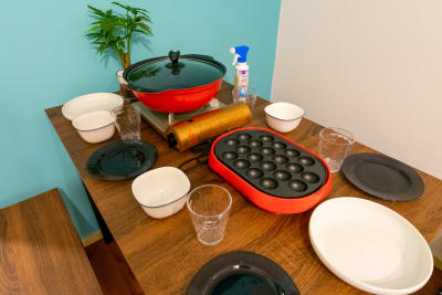 154_mysa新宿4th キッチンスペースの室内の写真