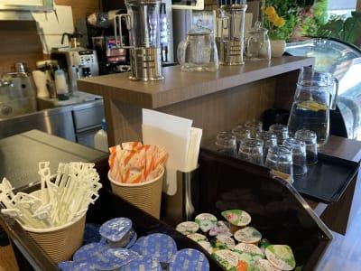 五十あらし新大塚 パーティルーム&コーヒーバーの設備の写真