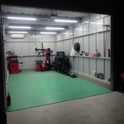 けんちゃん工房 レンタルガレージ/レンタルピットの室内の写真