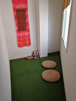 お子様連れの方もご案内できます! - シェアサロン押上 サロンスペース、フリースペースの室内の写真