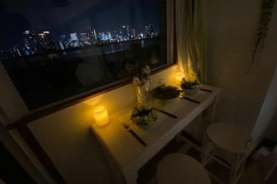 夜景トワイライトルーム十三 Lala.Ru十三の室内の写真