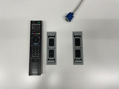 モニター用VGA コンセント4口 - タイムシェアリング秋葉原ISM ブースAの設備の写真