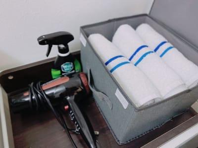 タオル・ドライヤー貸出無料! - Star-Club 市ヶ谷 ENERGY STUDIOの設備の写真