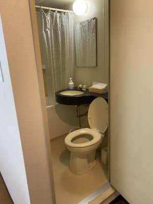 室内にトイレあり◎ - Star-Club 市ヶ谷 サカノウエの巣ごもりプランの設備の写真