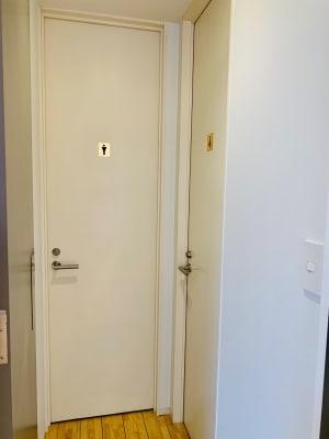 トイレ外観 - 【多目的スペース】会議・撮影など 少しマリンな小部屋のその他の写真