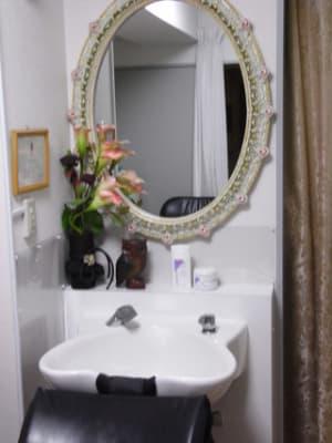 シャンプー台 - オルセー  オルセーの室内の写真