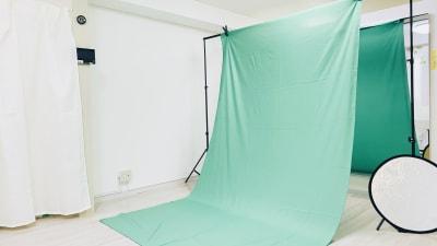 クロマキー撮影用機材一式導入してした! - レンタルスタジオ「Bee」 多目的プライベートスタジオの室内の写真