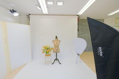 背景紙での撮影例 - Mystudio柏の葉 セルフ撮影フォトスタジオの室内の写真