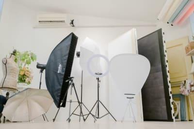 撮影機材一式 - Mystudio柏の葉 セルフ撮影フォトスタジオの室内の写真