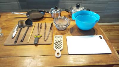 調理器具類 オプション - おうちカフェ sima sima 女子会スペースの設備の写真