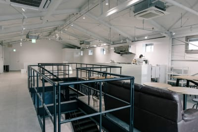 空間中央に階段があります。 - soko station 146 イベント・撮影スペースの室内の写真