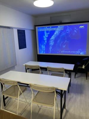 セミナー、勉強会、ミーティングにも対応できます。 - レンタルスペース MIRAI SPACEの室内の写真