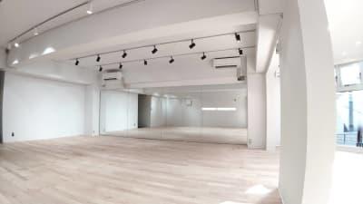 渋谷RIZEスタジオ レンタルスタジオの室内の写真