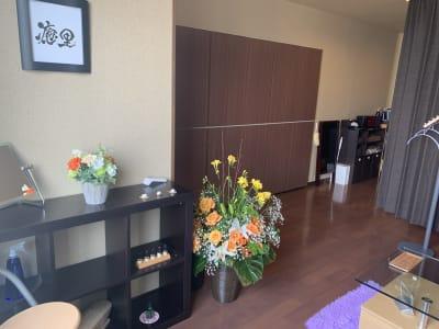 店内イメージ - シェアサロン Yutori サロンBの室内の写真