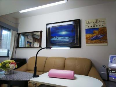 ネイルコーナー - オルセー  オルセーの室内の写真