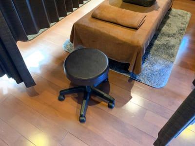 スツール - シェアサロン Yutori サロンBの設備の写真