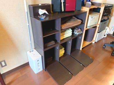 ラック - シェアサロン Yutori サロンBの設備の写真