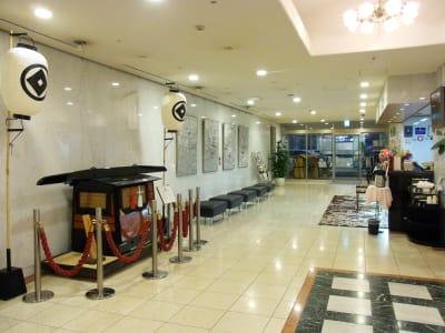 浅草セントラルホテル ワーキングルームの入口の写真