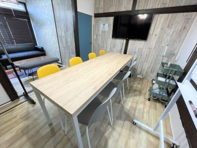 COCODE初台【A棟】 【ROOM1】設備充実の会議室☆の室内の写真
