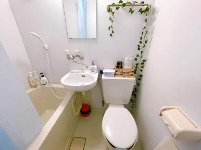 清潔なトイレ - ヴィラ難波の室内の写真