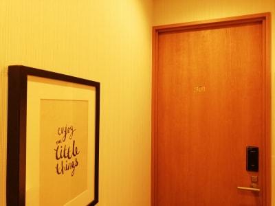 keyhotel akiba 室内での演奏にの室内の写真