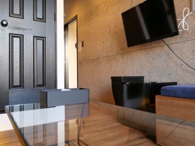 HOTEL ORIGO 中洲 撮影スペース(2F・5号室)の室内の写真