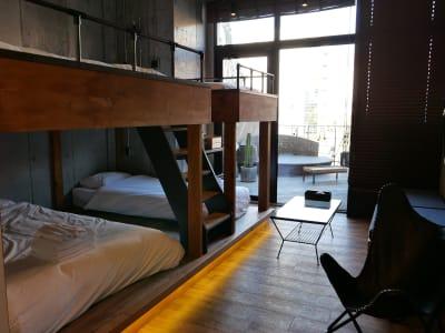 HOTEL ORIGO 中洲 撮影スペース(2F・6号室)の室内の写真