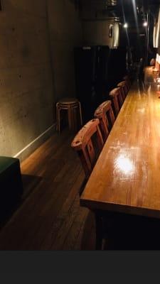 地下個室。控室、着替え室としてもご利用可。 1名〜4名までご利用できます。横並び席。コンセント1箇所。 - 上質レストランでコワーキング 上質レストランバーでコワーキングの室内の写真