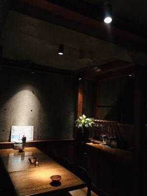 上質レストランでコワーキング 上質レストランバーでコワーキングの室内の写真