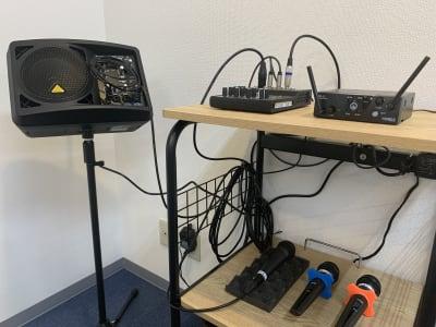 スピーカー、音響機器 - 東京会議室 五反田CC カンファレンスセンターの設備の写真
