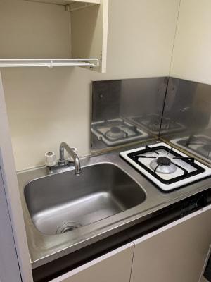 キッチン完備 - 池尻リフレッシュRoom A-7号室(ネイルブース3席)の設備の写真