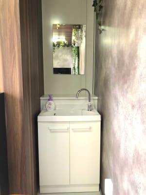 洗面所 - Emi Cube武蔵関 レンタルスペースの室内の写真
