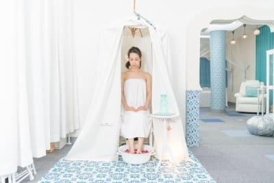 ハーブテントレンタル有ります - レンタルサロンキラリラ三宮 完全個室レンタルサロンの設備の写真