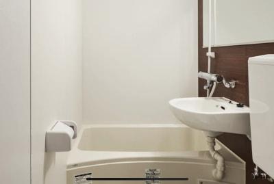 洗面所 - レンタルスペース【ルームルーム】 レンタルスペースルームルームの室内の写真