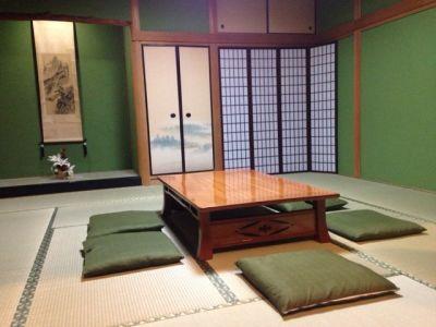 難波レンタルスペース リアン ルームB 和室の室内の写真