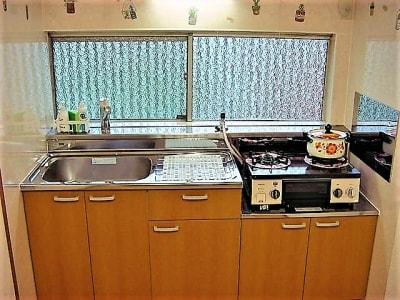 キッチン - 復活町家レンタルスペース3時間 復活プラン3時間4名迄の町家の設備の写真