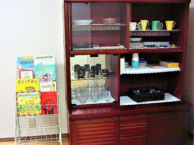 食器棚 - 復活町家レンタルスペース3時間 復活プラン3時間4名迄の町家の設備の写真