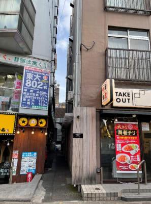 建物入り口通路 - BAMBOOスペース 【プルメリアスペース】の入口の写真