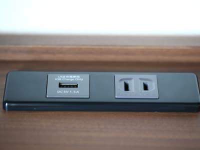 USBコンセントを備えています - ホテルウィング上野・御徒町 テレワーク用客室 #1の設備の写真